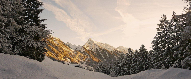 Winterwunderlandschaft Zillertal