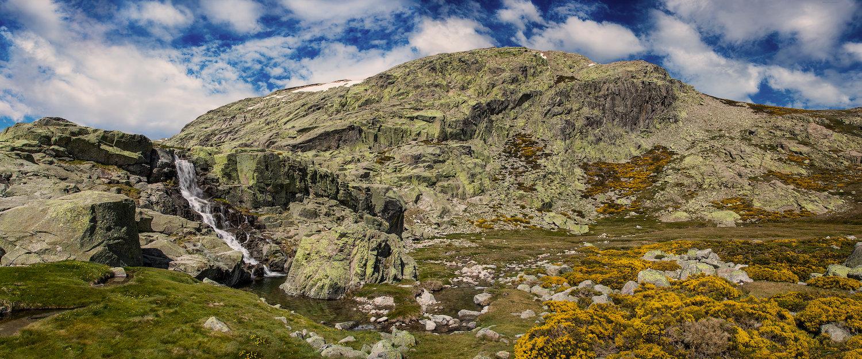 Colinas en el Parque Natural de la Sierra de Gredos