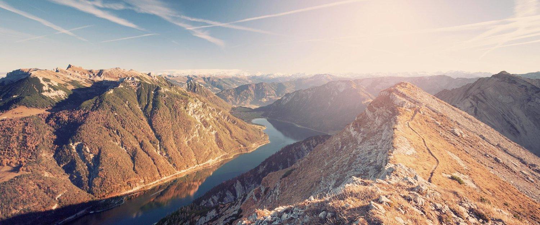 Alpenpanorama rund um den Achensee
