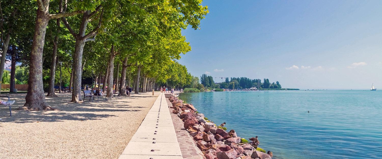 Strandpromenade am Balaton