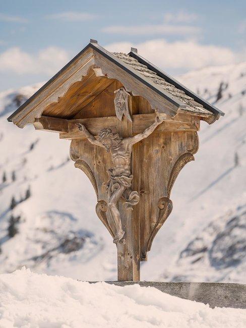 Auf den Bergen der österreichischen Alpen