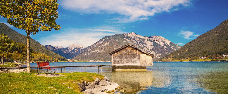 Häuschen auf dem Achensee