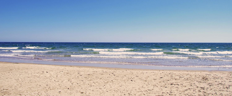 Praia em Monte Gordo