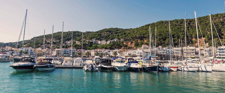 Der Hafen von Estartit