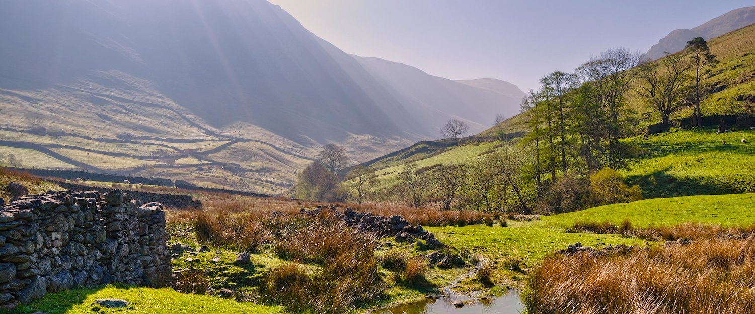 Discover the amazing landscape of the Lake District