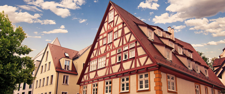 Vakwerkhuizen in Bad Waldsee