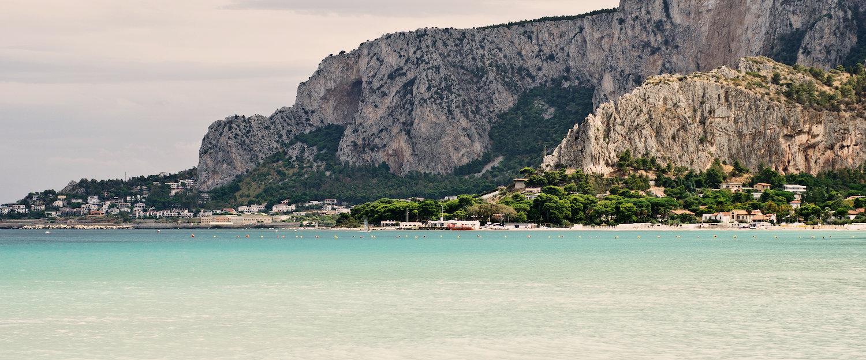 Spiaggia di Mondello.