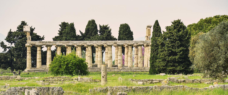 Resti di un tempio ben conservati.
