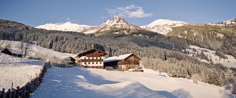 Winterlandschaft in Bad Gastein