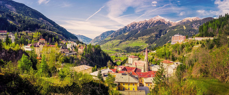 Traumhafte Berglandschaft in Bad Gastein