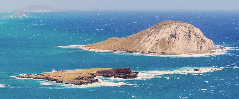La típica vista al mar en Lampedusa