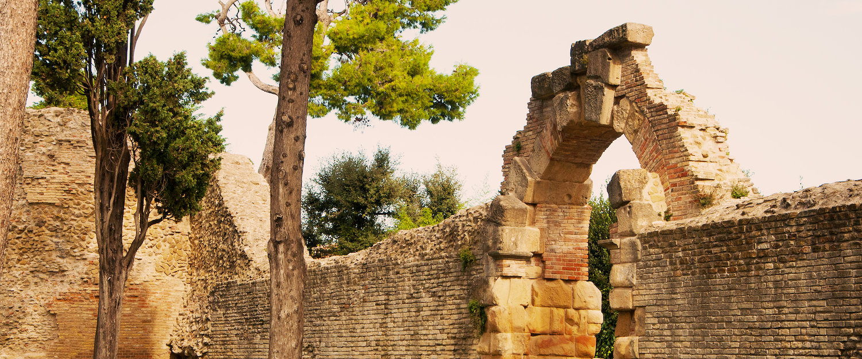 Site historique Fano