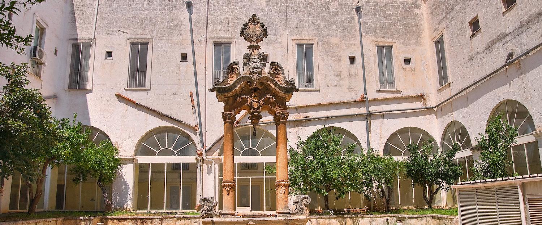 El centro histórico de Fasano