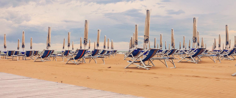 Pure ontspanning op het strand van Bibione