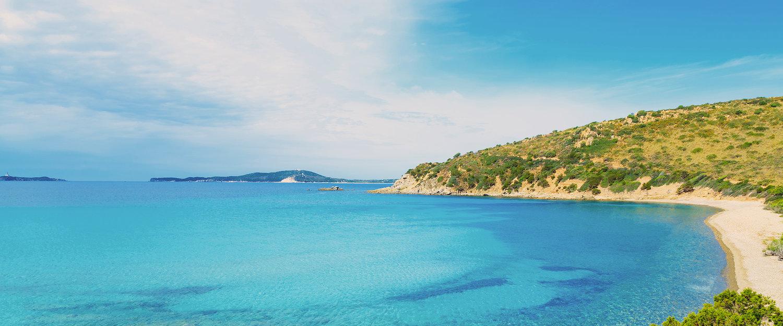 La playa de Villasimius