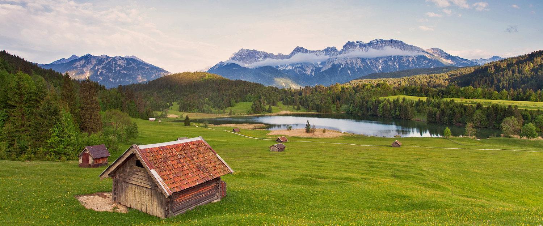 Prachtige wandelwegen in de regio rond Karwendel