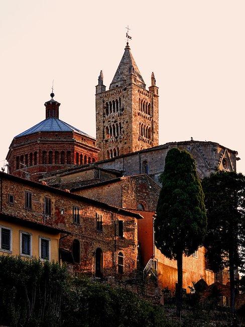 Toskanische Kathedrale San Serbone in Massa Marittima