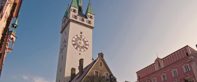Der Straubinger Stadtturm