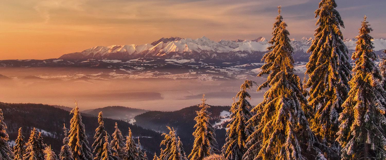 Piękne, górskie widoki