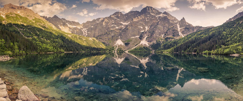 Tatry mogą poszczycić się pięknym, naturalnym krajobrazem