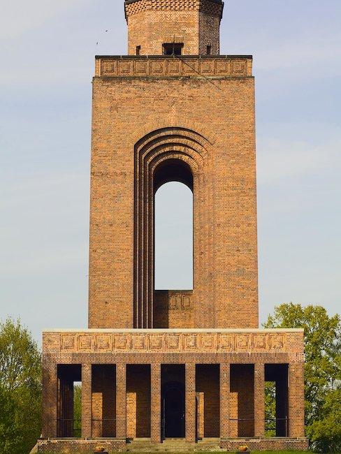 De Bismarcktoren in het Spreewald
