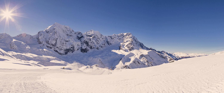 Winterpanorama in Sulden