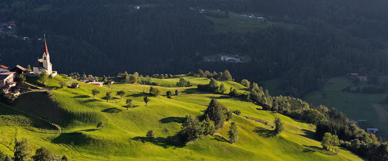 Alpine Landschaft um Kühtai
