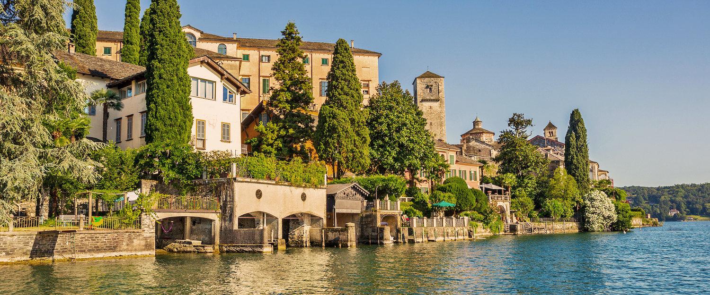 Blick auf die San Giulio Insel