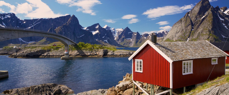 Landskapet i Lofoten