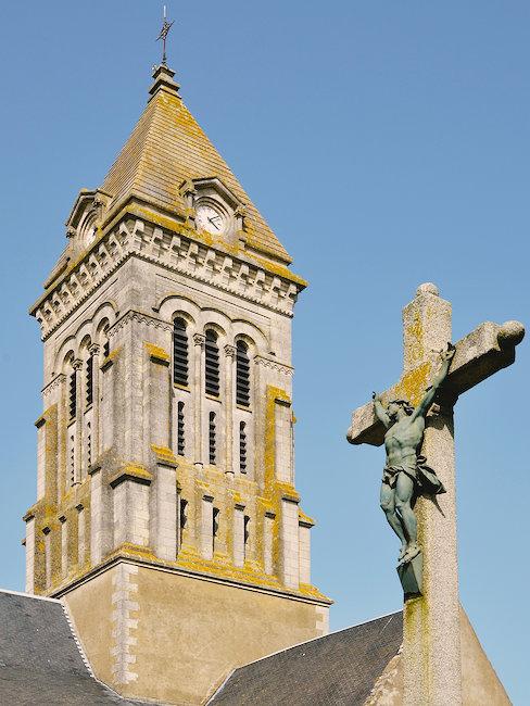 Eglise à Noirmoutier