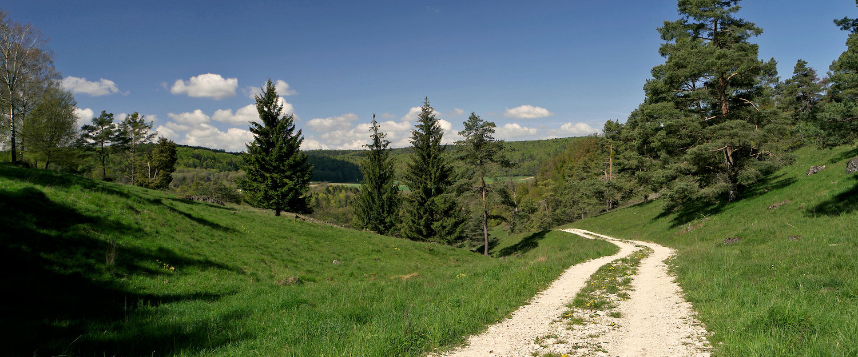 Wander- und Radwege im Frankenwald