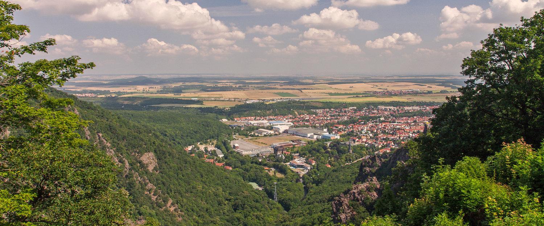 Blick vom Nationalpark Harz