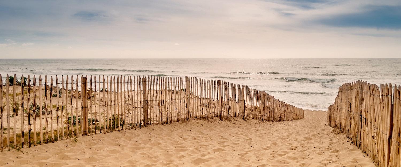 Am Strand von Lacanau Ocean