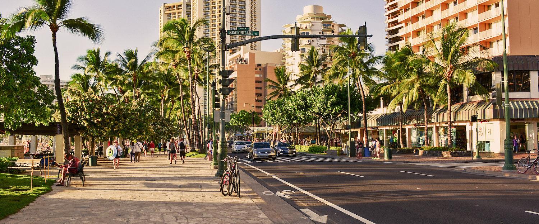 Een droomvakantie in de zonovergoten stad Honolulu.
