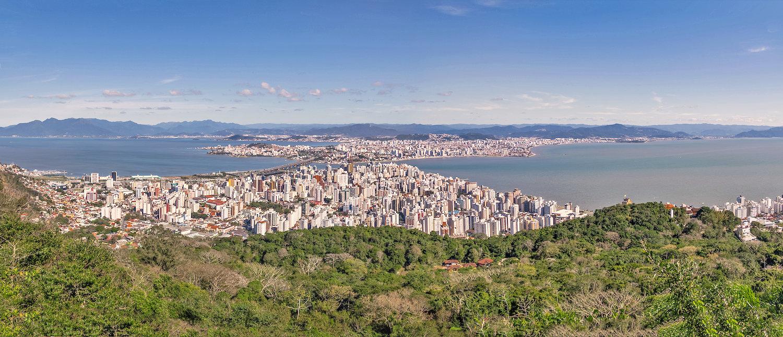 Vista da Cidade de Florianópolis