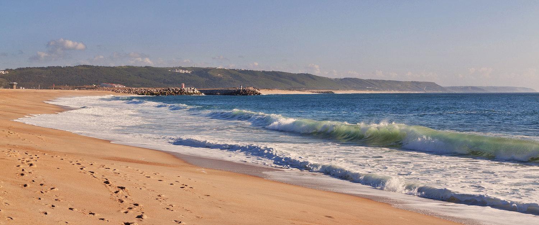 Praia em São Martinho do Porto