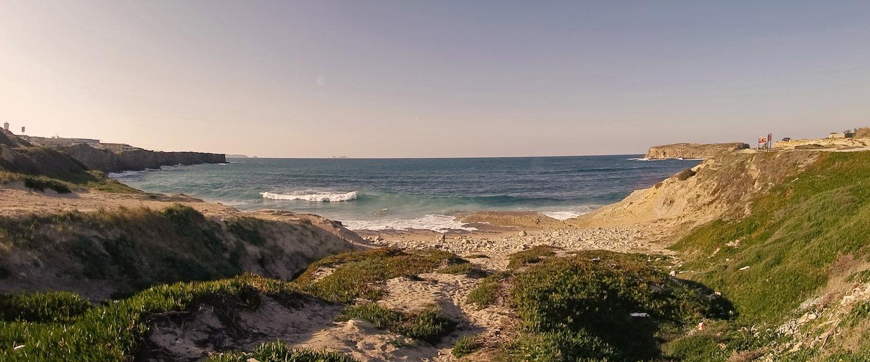 Praia em Foz do Arelho