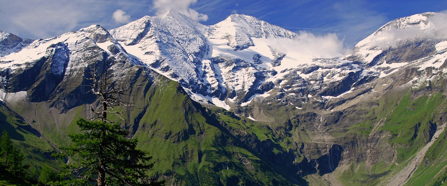 Austria's highest mountain: the Großglockner