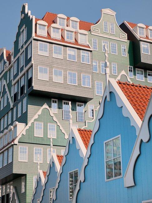 Miejscowość Zaandam koło Amsterdamu