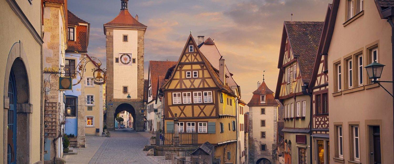 Vista da Cidade de Rothenburg ob der Tauber