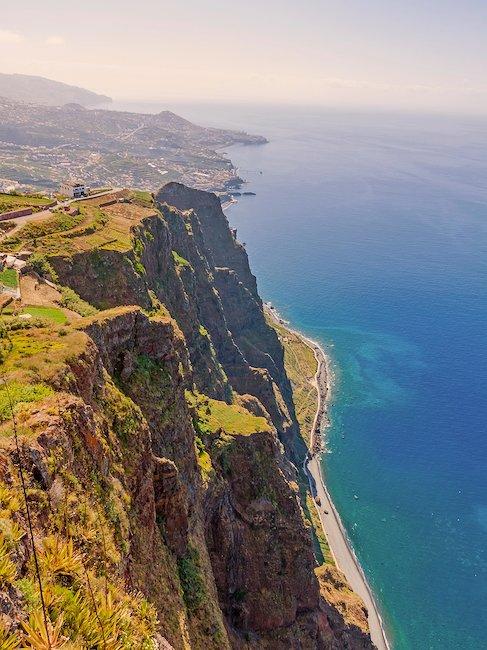 Cabo Girão, größte Steilküste Europas mit 580 m