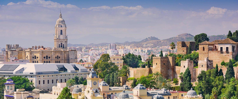 Vista da Cidade de Málaga