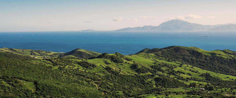 El mar y la cordillera de Algeciras