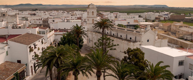 Idyllischer Ausblick über Conil de la Frontera