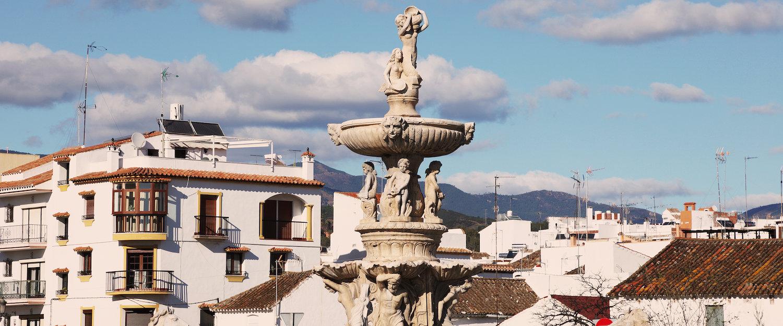 Fontein in Estepona