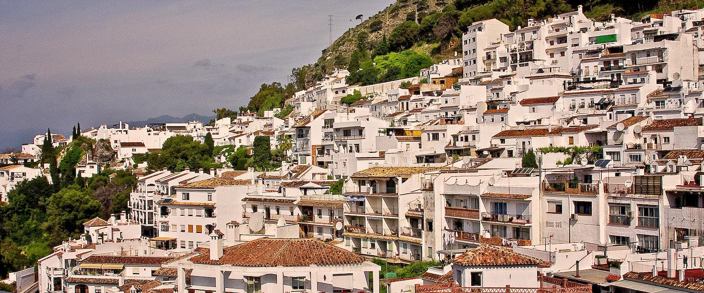 Urlaub im weißen Dorf Cártama