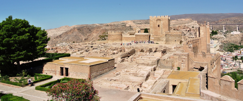 The Moorish fortress in Almeria