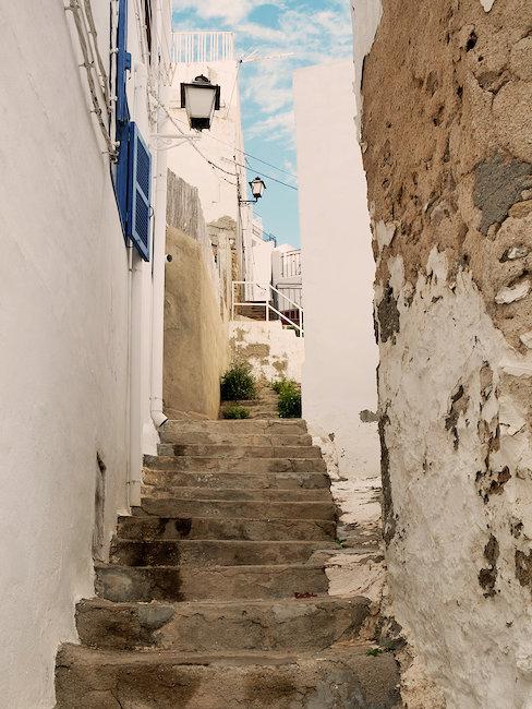 Idyllische Gasse in Almeria