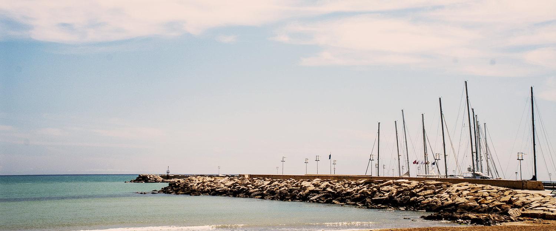 Meereshafen bei Sizilien