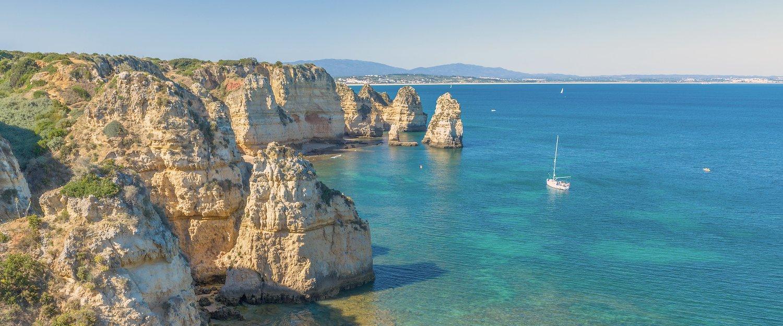 Praia no Algarve